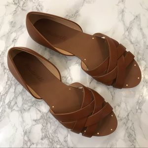 Madewell Leather Sandals Size 7.5